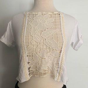 LF cute crochet crop top⭐️NWT⭐️